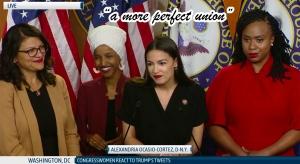 4 Congresswomen at press conference